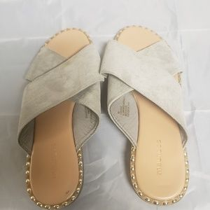 Maurices grey sandals size 8M